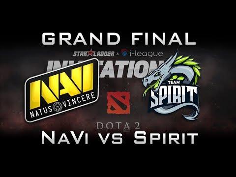 NaVi vs Spirit Grand Final Starladder 2017 Minor CIS Highlights Dota 2