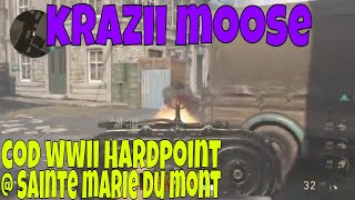 Call of Duty WWII Hardpoint @ Sainte Marie Du Mont 35 Kills