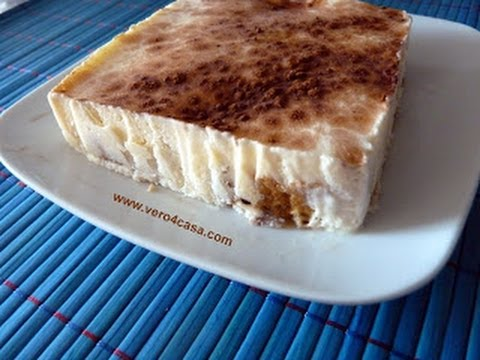 Receta Dukan: Helado o tarta de tiramisú