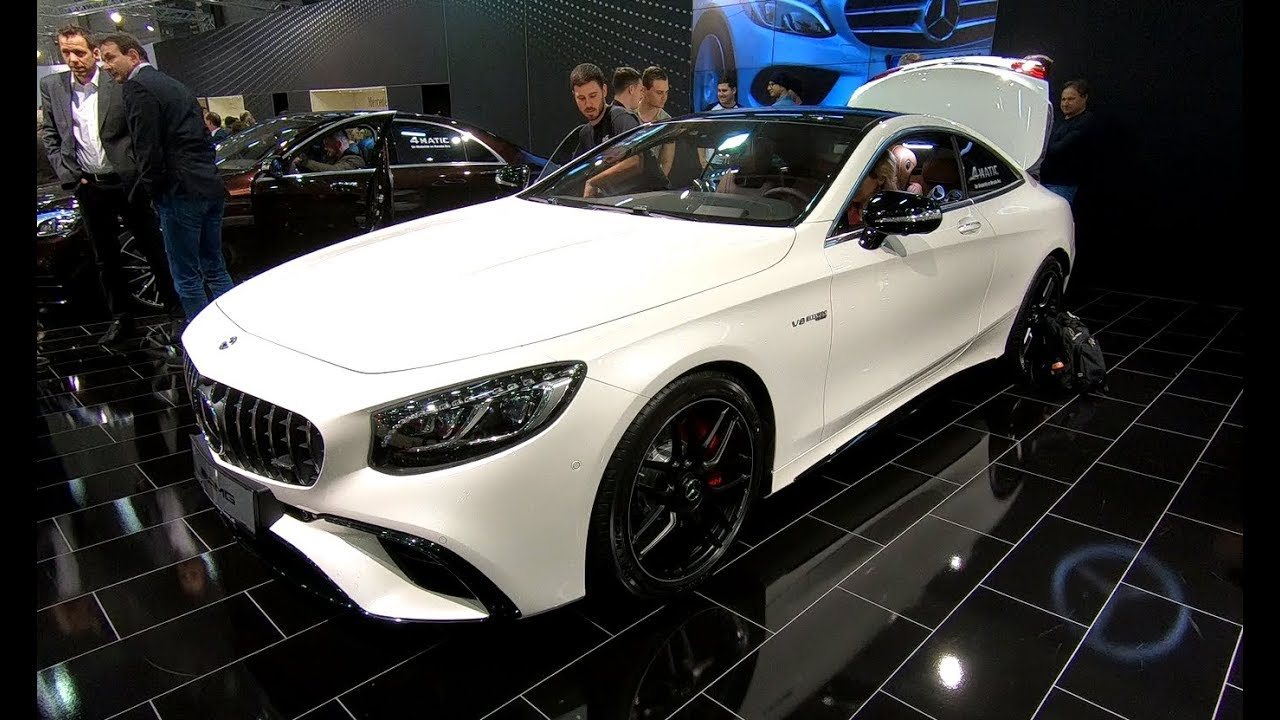 Mercedes Benz S Class S63 Amg Coupe New Model White And