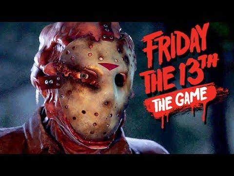 Friday The 13th The Game Gameplay German - Kreis allein mit Jason