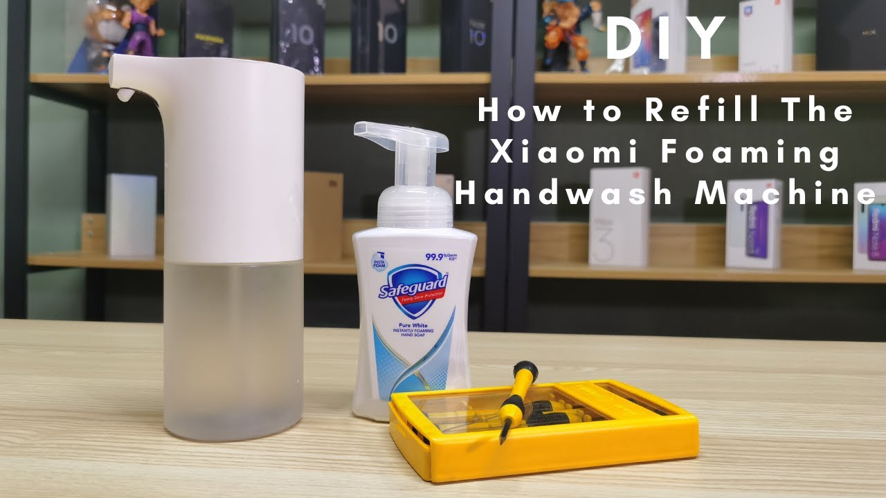 How to Refill the Xiaomi Foaming Hand Wash Machine On Your Own!