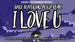 "Faice ""I Love U"" with lyrics"