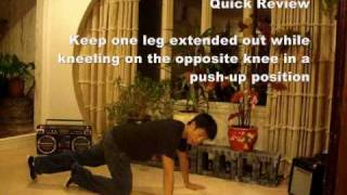 Good Step-By-Step Hip Hop Dance Move HOW TO: Knee Float Tutorial