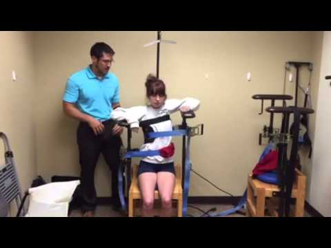 Scoliosis Traction Chair Northwest Chiropractic Amp Rehab