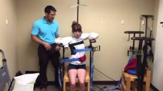 Scoliosis Traction Chair | Northwest Chiropractic & Rehab | Rogers AR