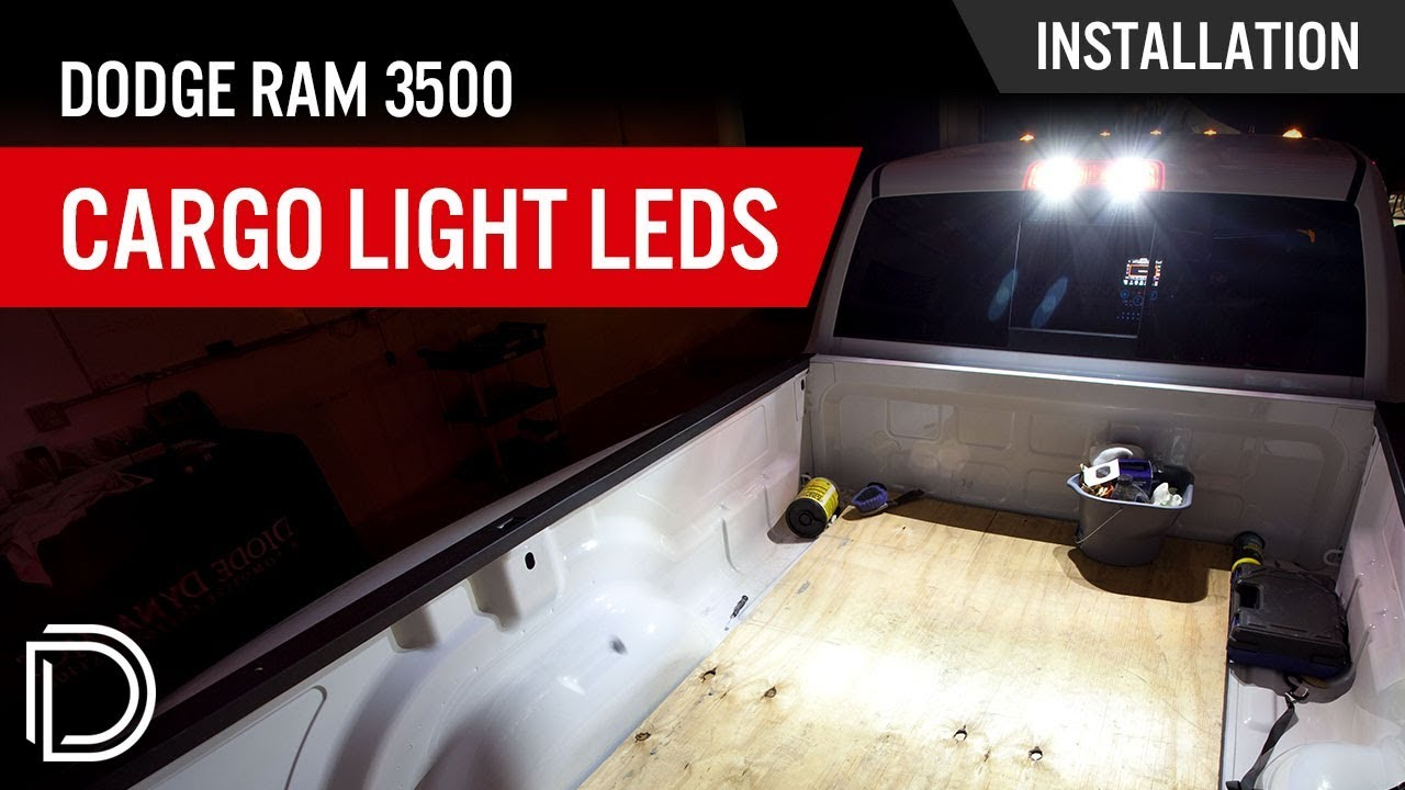 How To Install Dodge Ram 3500 Cargo Light Leds Youtube 2012 Diesel Wiring Diagrams