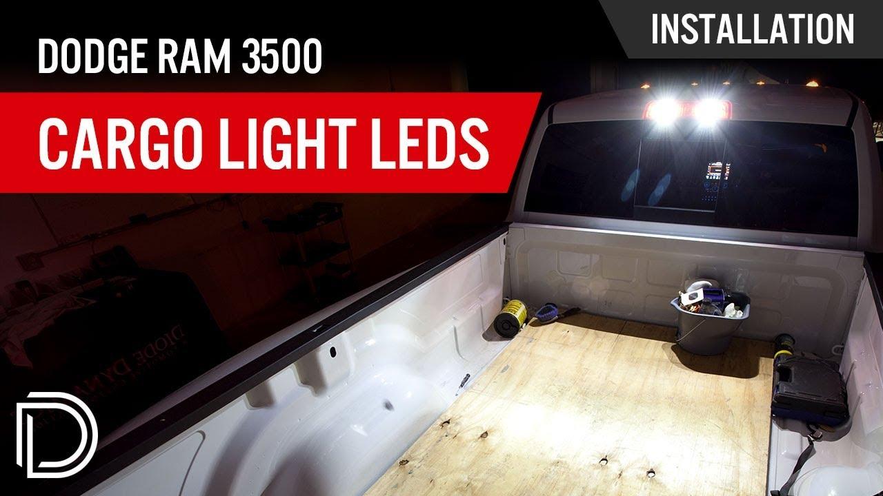 medium resolution of how to install dodge ram 3500 cargo light leds youtube 2012 ram cargo light wiring diagram