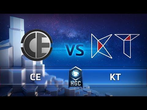 HGC CN - Phase 2 Week 9 - KT vs CE - Game 1