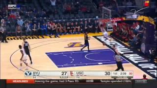 Men's Basketball: USC 91, BYU 84 - Highlights 12/3/16