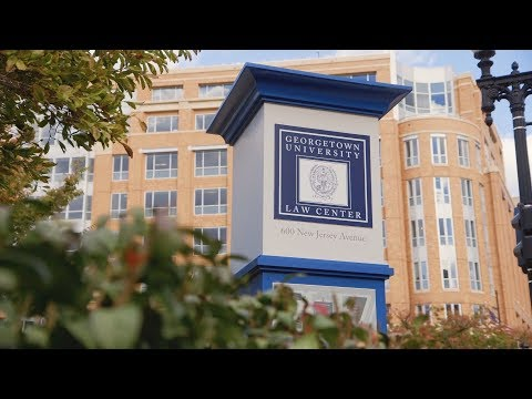 Welcome to Georgetown Law!
