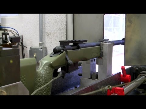 Marine Corps Sniper Rifle - Accuracy & Groupings Test