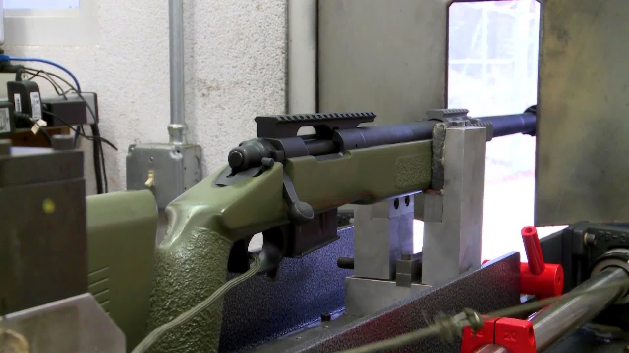 Marine Corps Sniper Rifle - Accuracy & Groupings Test ...