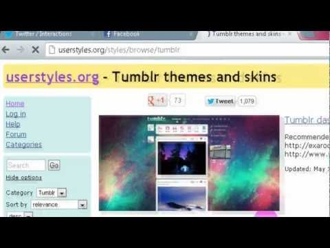 How to change your Tumblr Dashboard Theme on PC and Mac