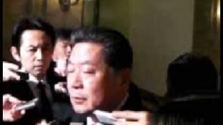 【中川秀直】0227国会「本会議後インタビュー」 中川秀直 検索動画 30