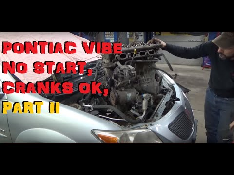 2005 Pontiac Vibe 1.8 No Start Cranks OK - Part 2