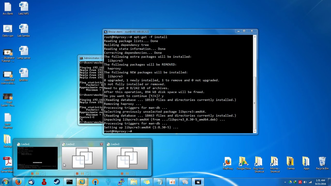 HAProxy Configuration on Debian
