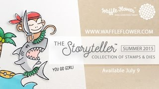 Waffle Flower New Release Trailer - The Storyteller™ Collection