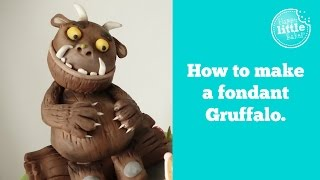 How to make The Gruffalo out of fondant