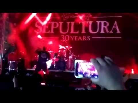 Sepultura em Belo Horizonte Virada Cultural 2015