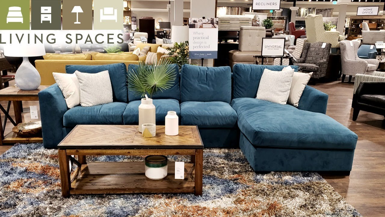 Living Spaces Home Furniture Walk With Me 2019 Youtube