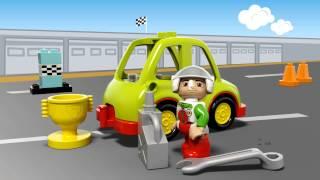 LEGO DUPLO - 10589 Автомобіль для раллі(Подаруйте можливість маленькому гонщику сісти за кермо Автомобіля для раллі LEGO® DUPLO®! Юний механік може..., 2015-07-03T11:07:34.000Z)