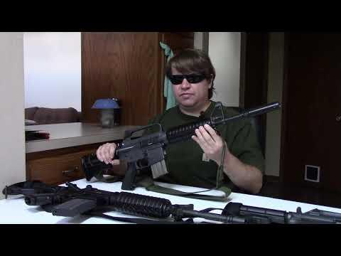 Revisiting Colt's CAR15 Carbine - GX5857, XM177, GUU5P, & M4