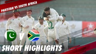 Short Highlights | Pakistan VS South Africa | 1st Test | Day 1 | ME2T