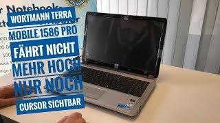 Wortmann Terra Mobile 1586 Pro Quanta TWH fährt nicht mehr hoch   Nur noch Cursor sichtbar