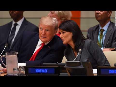 Trump Sets Sights On Iran, North Korea In Major UN Speech  Politics
