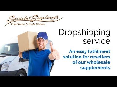 Supplements dropship service