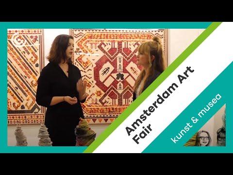 Vlog 16: Entrepreneurship among artists at the Amsterdam Art Fair