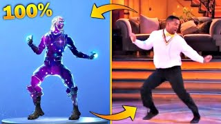 ALL NEW FORTNITE DANCES IN REAL LIFE! (Orange Justice, Hype...) *NEW 2018*