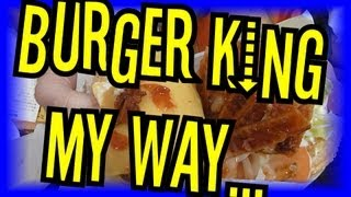 Burger King My Way - Eric Meal Time #26