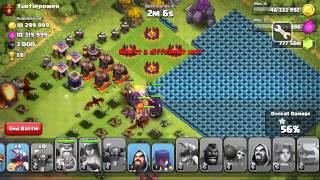 CLASH OF CLANS P.E.K.K.A KING AND MORE