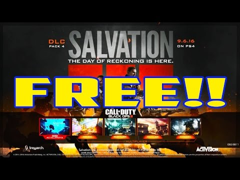 How To Get Salvation DLC 4 For Free Black Ops 3 (XBOX ONE)