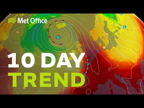 10 Day trend – Hot weather arriving, but is it a one day wonder? 29/07/20