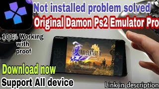 (Crash fix Damon Ps2 Pro Emulator No crash Support in Any Android Smartphones