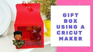 Gift Box Using A Cricut Maker