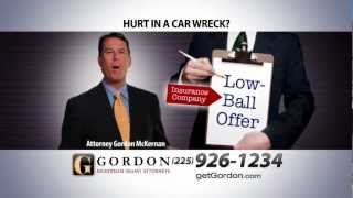 Insurance Low Ball Offer | Big Truck Wreck | Get Gordon McKernan Get it Done