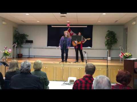 Big Joe Mufferaw - Walton United Church - Cabaret Eh? 2016