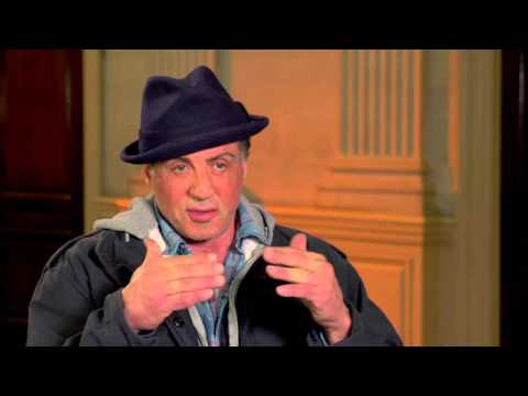 """Creed: Sylvester Stallone """"Rocky Balboa"""" Behind the Scenes Movie Interview"""
