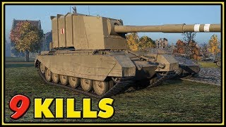 FV4005 Stage II - 9 Kills - World of Tanks Gameplay