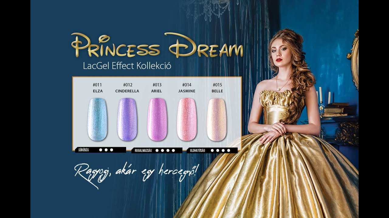 Princess Dream LacGel Effect Collection| Perfect Nails ...