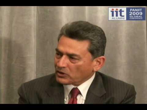 Rajat Gupta - Fmr CEO Mckinsey, Chairman ISB & PanIIT