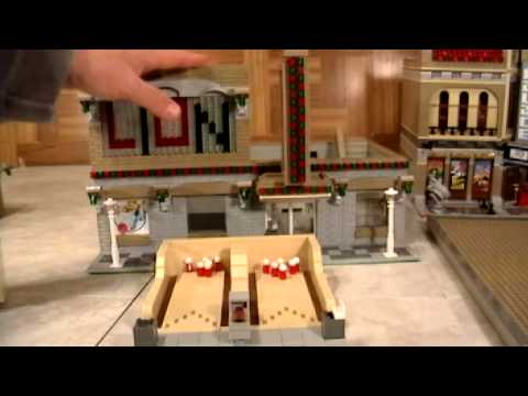 Custom Modular Lego Bowling Alley - YouTube