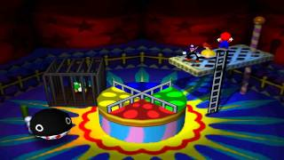 Mario Party 3 Mini Games - Merry Go Chomp