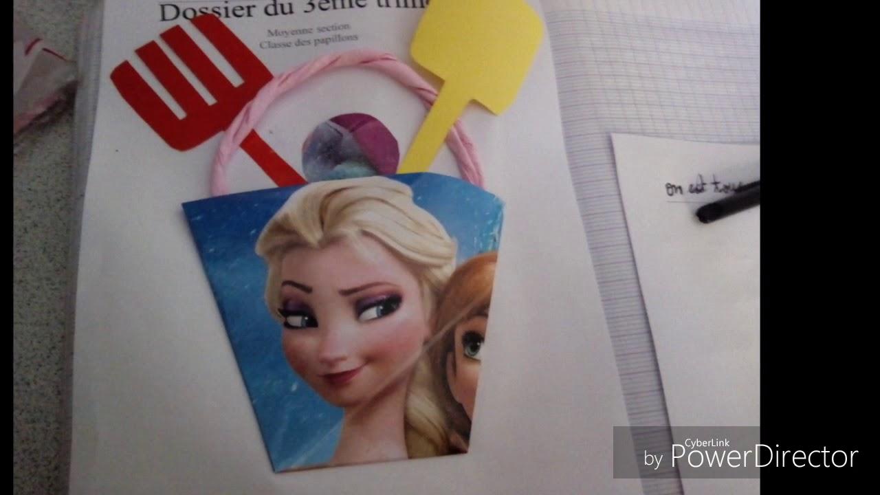 Page De Garde Du Dossier En Maternelle Youtube