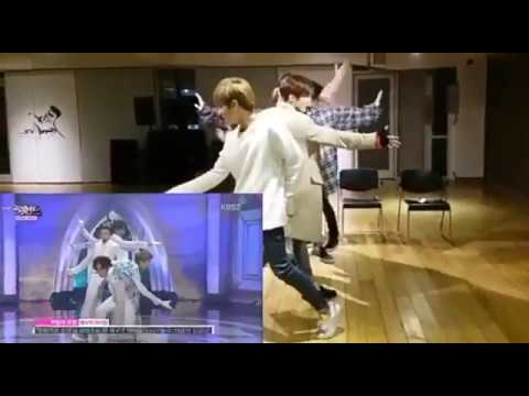 [VLIVE] IMFACT dance to ZE:A - The Ghost of the Wind