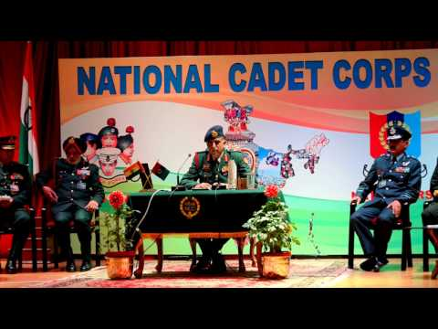 Director General NCC Lt. Gen. Vinod Vashisht's Press Conference Ahead of Republic Day Parade 2017